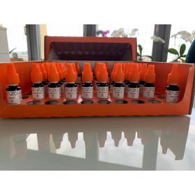 56x Zazo Liquids 10ml ohne Nikotin Package Geschmäcker