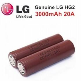 LG HG2 INR 18650 3000mah flat top Batterie
