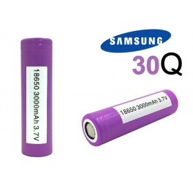 Samsung 30Q INR 18650 flat top 3000mAh Batterie