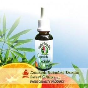 eLiquid mit CBD Sweet Orange Aroma für E-Zigaretten