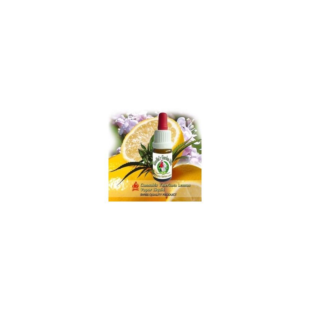 eLiquid mit CBD Valeriana Lemon Aroma für E-Zigaretten